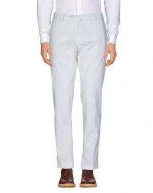 Повседневные брюки BRIGLIA 1949. Цвет: белый