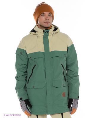 Куртка AG ANTHEM JK Analog. Цвет: зеленый, бежевый