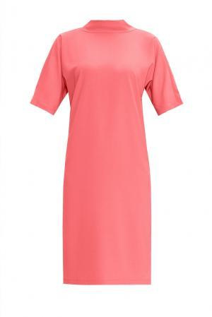 Платье из искусственного шелка 168460 Cyrille Gassiline. Цвет: розовый