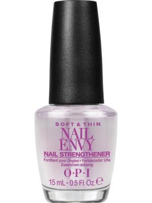 Opi Укрепляющее средство для ногтей Nail Envy Natural Strengthener For Soft,Thin Nails, 15 мл. Цвет: прозрачный