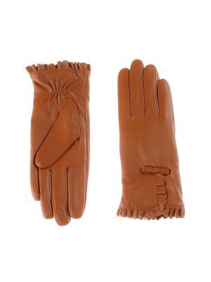 Перчатки Sabellino. Цвет: светло-коричневый