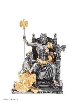 Статуэтка Зевс и Гера Veronese. Цвет: серебристый, золотистый