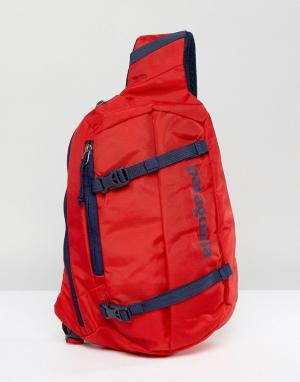 Patagonia Красная сумка Atom. Цвет: красный
