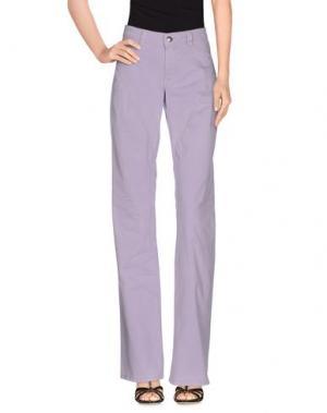 Джинсовые брюки 9.2 BY CARLO CHIONNA. Цвет: сиреневый