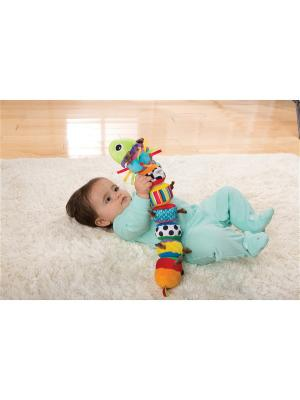 Мягкая игрушка LAMAZE.. Цвет: синий, белый, бирюзовый, желтый, малиновый, оранжевый