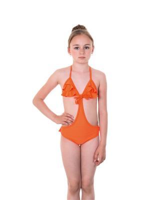 Бикини EMDI. Цвет: оранжевый