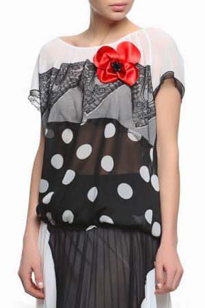 Блуза XS MILANO. Цвет: черный