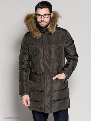 Куртка 18CRR81 CERRUTI. Цвет: темно-коричневый
