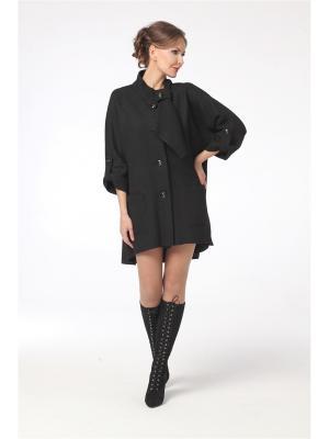 Пальто DizzyWay. Цвет: черный