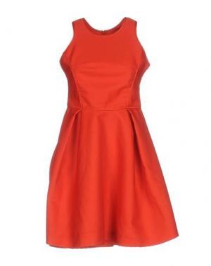 Короткое платье MAJE. Цвет: красный