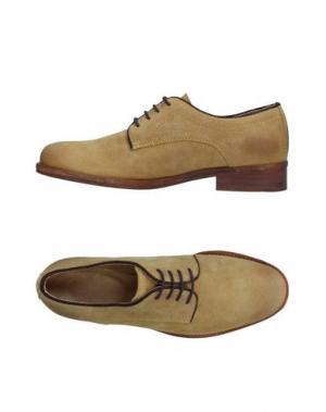 Обувь на шнурках MR. WOLF. Цвет: охра