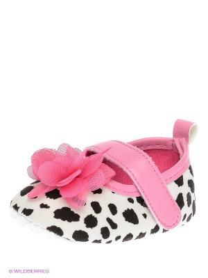 Пинетки Luvable Friends. Цвет: белый, черный, розовый