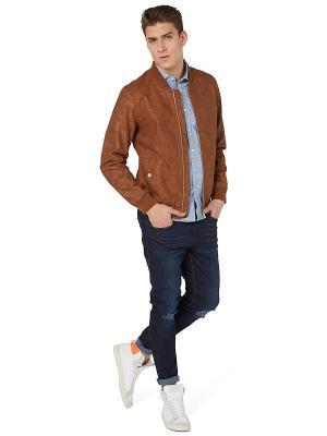 Куртка TOM TAILOR. Цвет: коричневый