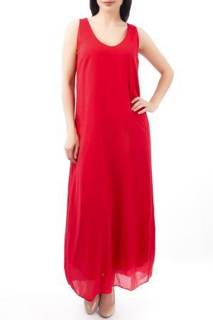 Платье EUROPEAN CULTURE. Цвет: красный
