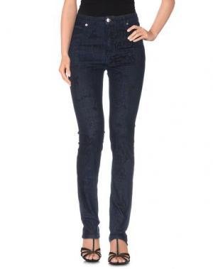 Джинсовые брюки AMERICAN RETRO. Цвет: синий