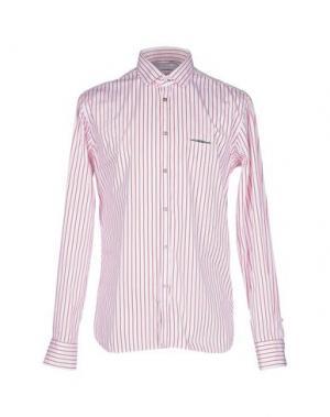Pубашка AGLINI. Цвет: белый