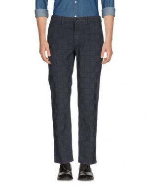Повседневные брюки BLUE JAPAN. Цвет: свинцово-серый