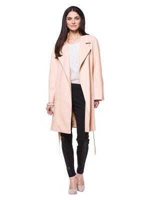 Пальто APART. Цвет: бледно-розовый