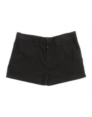 Повседневные шорты LE PETIT COCO. Цвет: черный