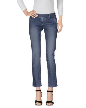 Джинсовые брюки 2W2M. Цвет: свинцово-серый