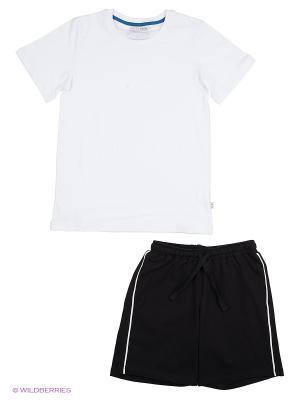 Комплект одежды Nota Bene. Цвет: белый