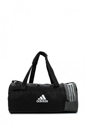 Сумка спортивная adidas. Цвет: черный