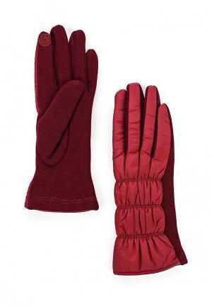 Перчатки Mascotte. Цвет: бордовый