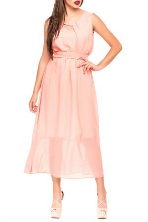 Платье Magnet. Цвет: персиковый