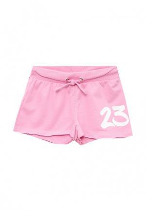 Шорты спортивные Blukids. Цвет: розовый