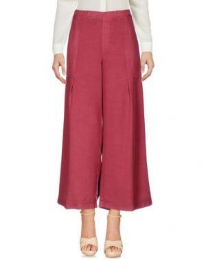Повседневные брюки EUROPEAN CULTURE. Цвет: кирпично-красный