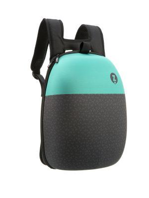 Рюкзак SHELL BACKPACKS ZIPIT. Цвет: черный, зеленый