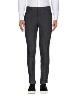 Повседневные брюки EDUN. Цвет: стальной серый