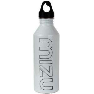 Бутылка Для Воды MIZU. Цвет: glossy white w black print