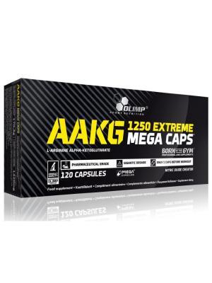 Аминокислоты OLIMP AAKG 1250 Mega (120 капс) Nutrition. Цвет: черный