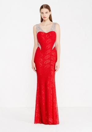 Платье Soky & Soka. Цвет: красный