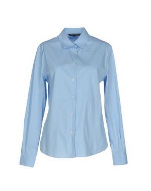 Pубашка BRIAN DALES. Цвет: лазурный