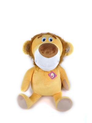 Мягкая игрушка Мега Левик 47.5.1 цвет оранжевый Malvina. Цвет: оранжевый