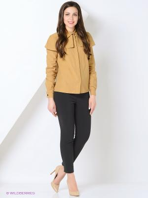 Рубашка BYGAKOFF. Цвет: темно-бежевый