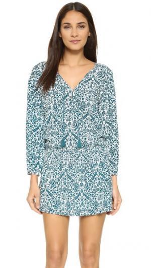 Платье Kira Tigerlily. Цвет: морской бирюзовый
