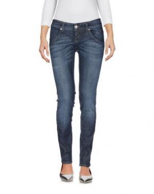 Джинсовые брюки ROŸ ROGER'S CHOICE. Цвет: синий