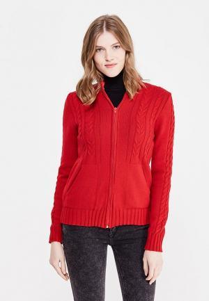Кардиган Milana Style. Цвет: красный