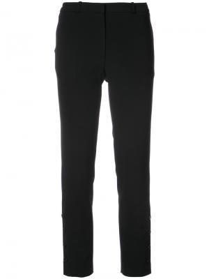 Строгие брюки с манжетами на пуговицах Altuzarra. Цвет: чёрный