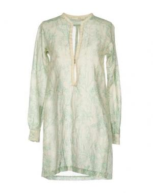 Блузка GOLD CASE SOGNO. Цвет: зеленый