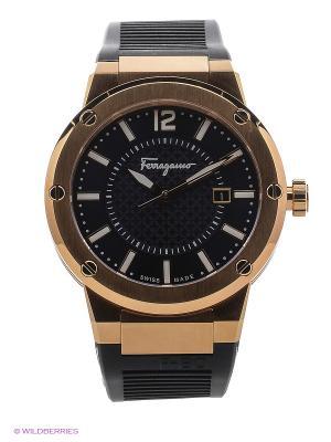 Часы Salvatore Ferragamo. Цвет: фиолетовый