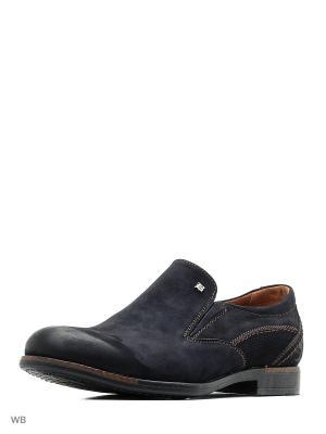 Туфли Companion. Цвет: синий