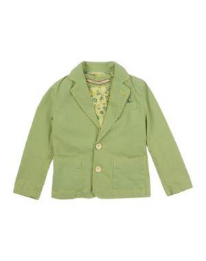 Пиджак TRENTADUE GIRI. Цвет: кислотно-зеленый