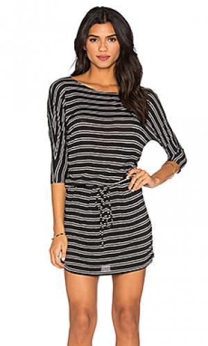Платье Michael Stars. Цвет: black & white