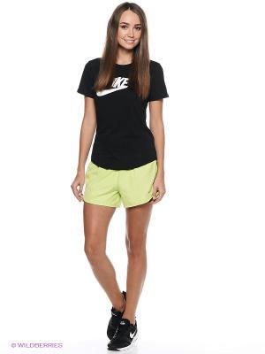 Шорты MODERN EMBOSSED TEMPO (SP15) Nike. Цвет: салатовый, бирюзовый