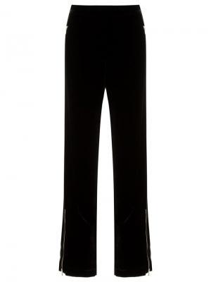 Velvet trousers Reinaldo Lourenço. Цвет: чёрный