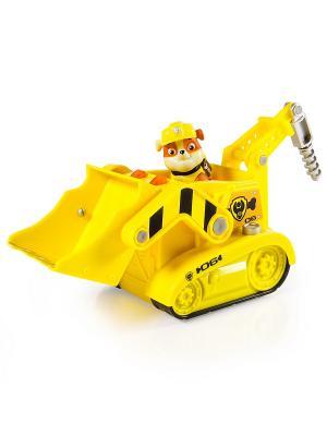 Игрушка Paw Patrol большой автомобиль спасателей со звуком и светом SPIN MASTER. Цвет: желтый